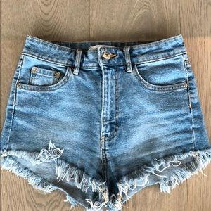 NEW Zara Jean Shorts